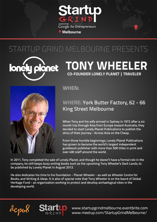 STARTUP GRIND MELBOURNE HOSTS LONELY PLANET